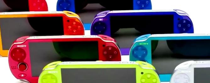 PS Vita Farben Übersicht