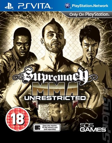 cover_Supremacy MMA unrestricted: Videos