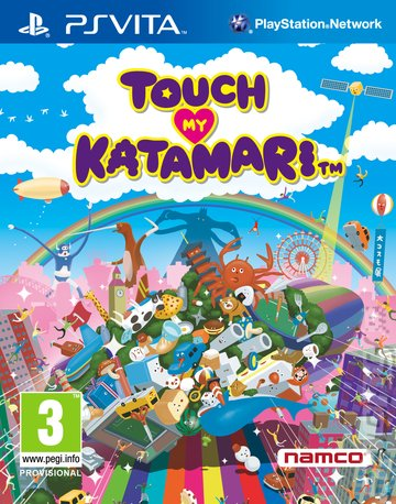 cover_Touch My Katamari: Pac-Man DLC