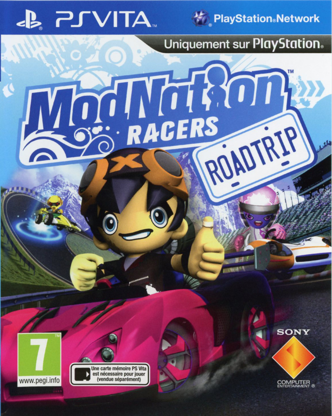 cover_ModNation Racers: Road Trip – Server eingestellt