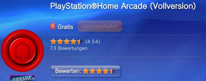 PlayStationHome Arcade