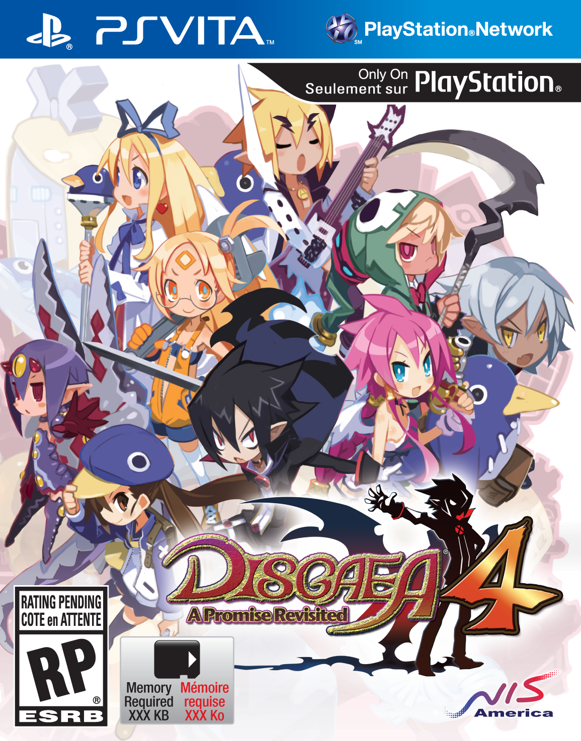 cover_Disgaea 4: A Promise Revisited – neue Bilder