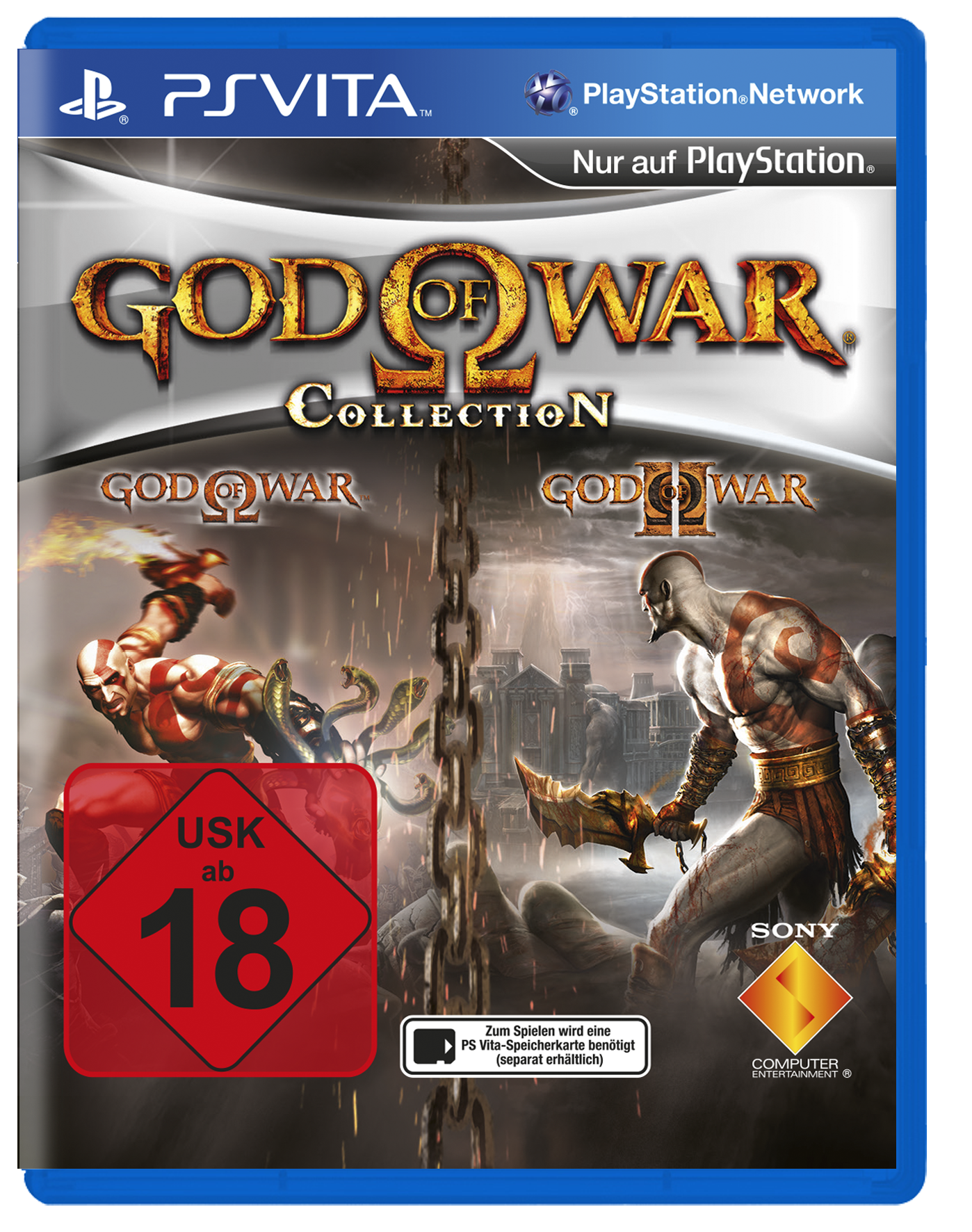 cover_God of War HD Collection – Release