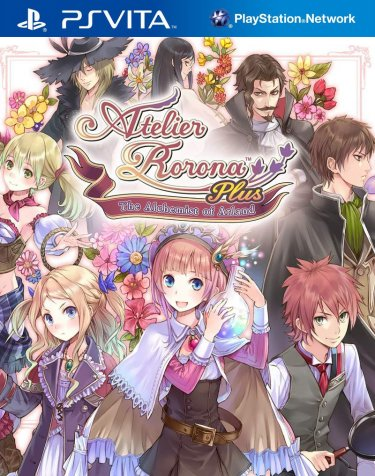 cover_Atelier Rorona Plus: The Alchemist Of Arland