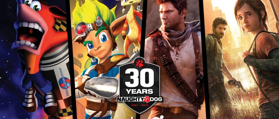 30 Jahre Naughty Dog