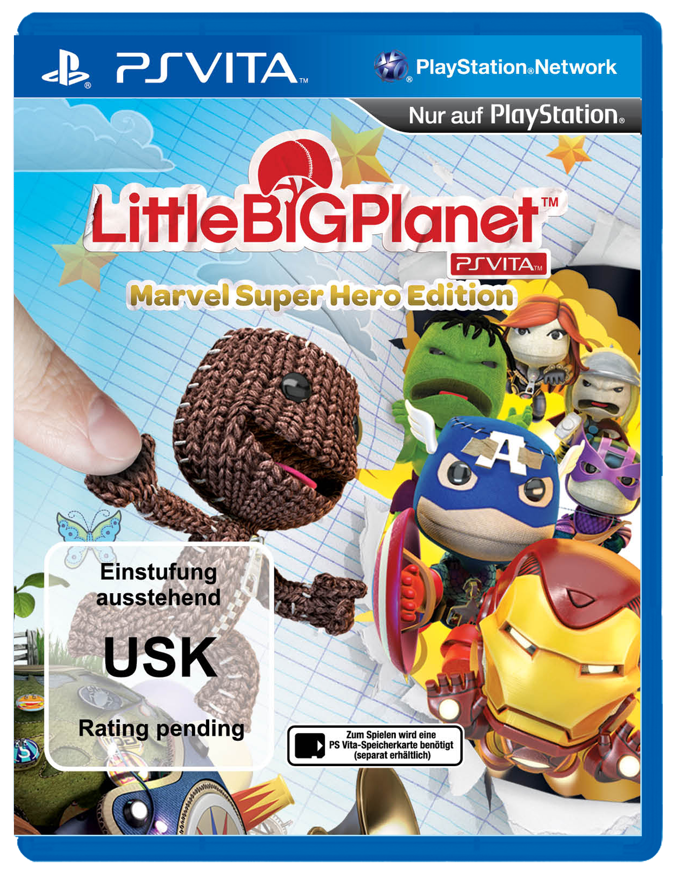 cover_LittleBigPlanet PS Vita Marvel Super Hero Edition