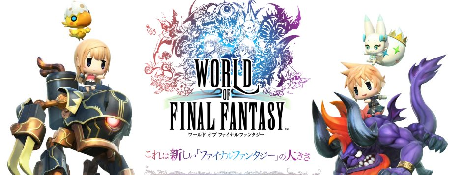 World of Final Fantasy – Patch 1.03 erscheint mit DLC