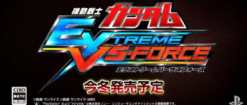 Mobile Suit Gundam: Extreme VS Force – Launch Trailer