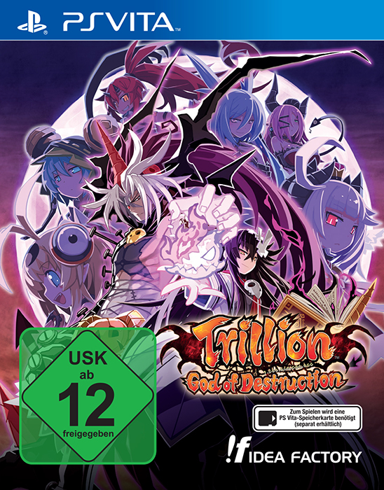 cover_Trillion: God of Destruction – Neuer Trailer und zwei Overlords