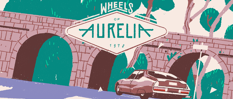 Wheels of Aurelia – Gestrichen