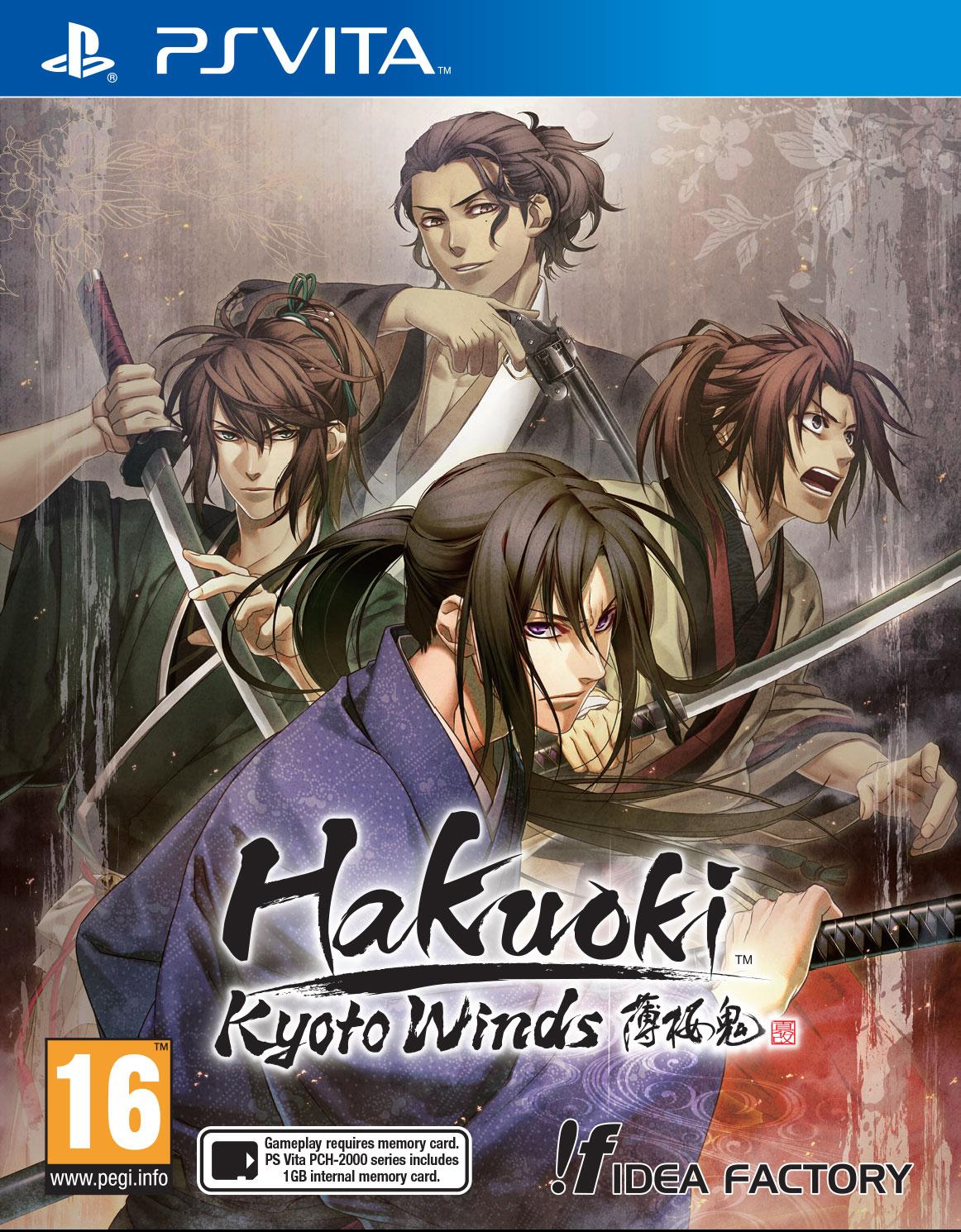 cover_Hakuoki: Kyoto Winds – Sakamoto, Souma und Iba