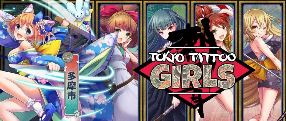 Tokyo Tattoo Girls – Strategiespiel für die PS Vita